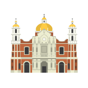 Basilica of Our Lady of Guadalupe Free PNG Illustration