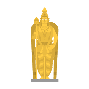 Batu Caves Free PNG Illustration