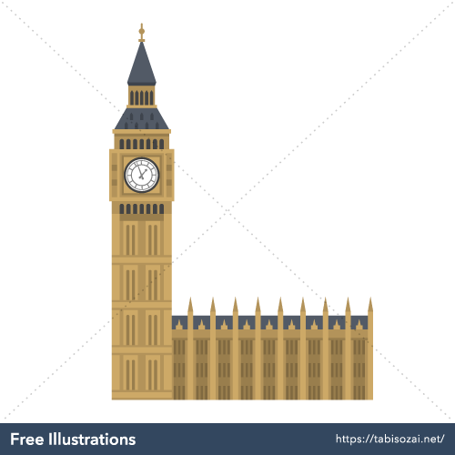 Big Ben Free Vector Illustration