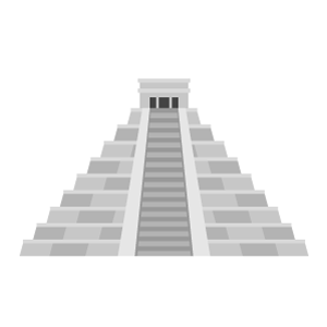 Chichén Itzá Free PNG Illustration