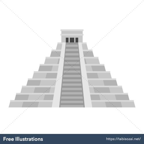 Chichén Itzá Free Illustration