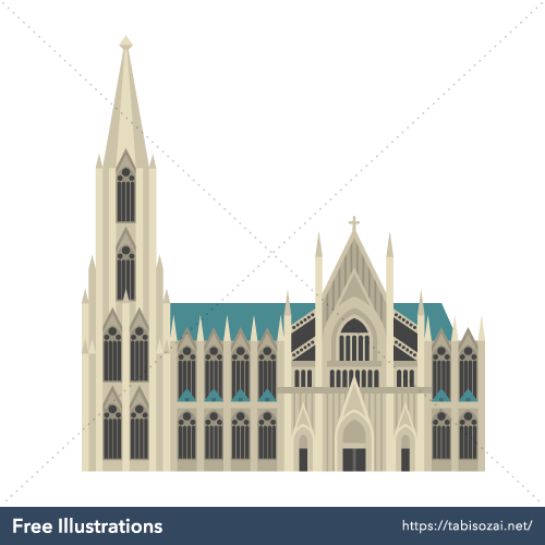 Kölner Dom Free Vector Illustration