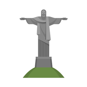 Christ the Redeemer Free Vector Illustration
