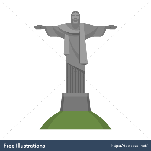 Cristo Redentor Free Illustration
