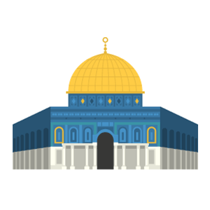 Dome of the Rock Free PNG Illustration