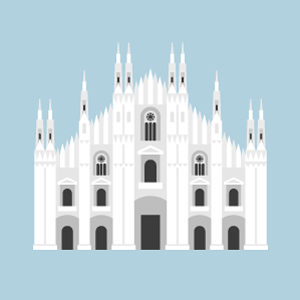 Milan Cathedral Free PNG Illustration