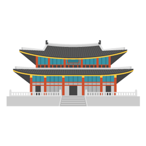 Gyeongbokgung Free PNG Illustration