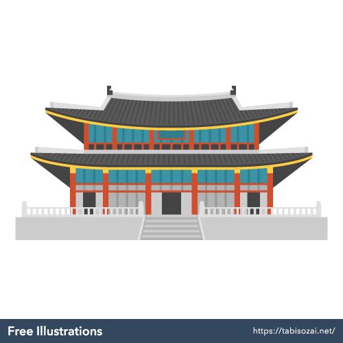 Gyeongbokgung Free Illustration
