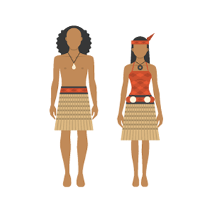 Maori costume Free PNG Illustration