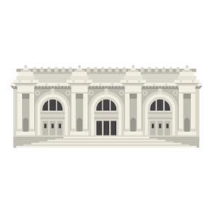 メトロポリタン美術館の無料イラスト素材