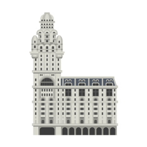 サルボ宮殿の無料イラスト素材