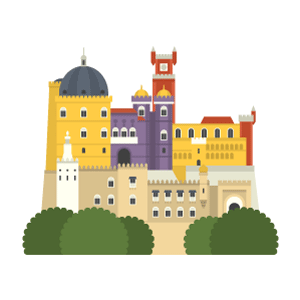 Pena Palace Free PNG Illustration