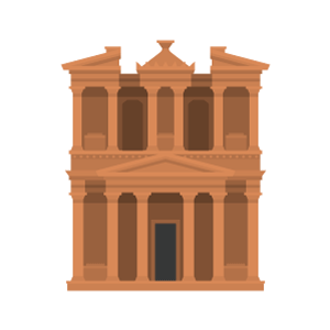 Petra Free PNG Illustration