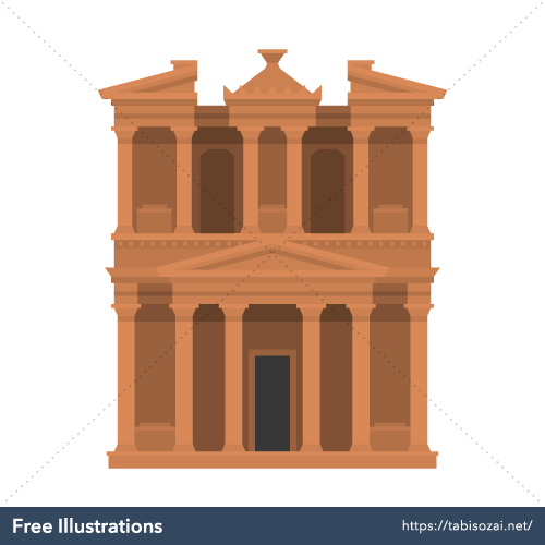 Petra Free PNG Illustration