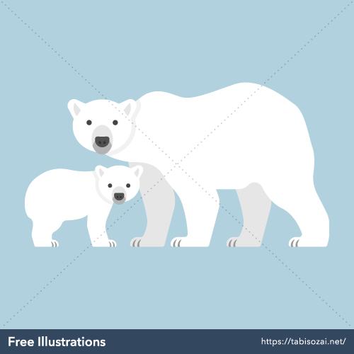 Polar bear Free Illustration