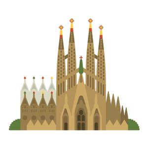 バルセロナのイラスト素材一覧 無料イラスト素材 Tabisozai