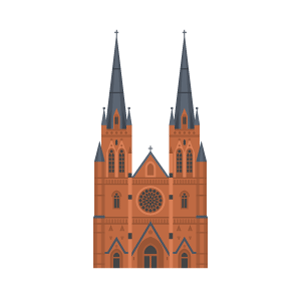 St Mary's Cathedral, Sydney Free PNG Illustration