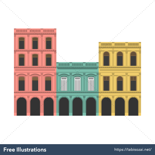 Old Havana Free Illustration