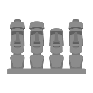 Moai Free PNG Illustration