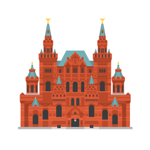 State Historical Museum Free PNG Illustration