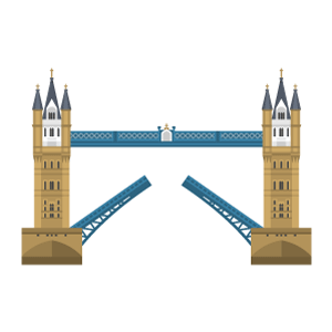 Tower Bridge Free PNG Illustration