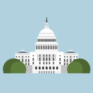 United States Capitol Free PNG Illustration