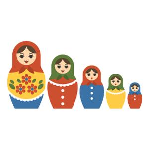 Matryoshka doll Free PNG Illustration