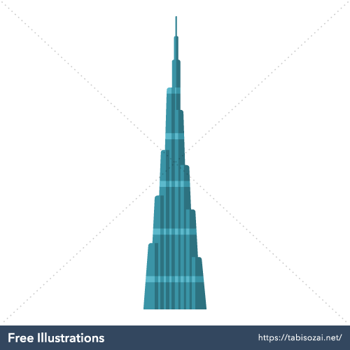 Burj Khalifa Free Illustration