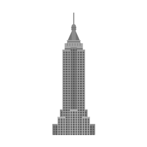 Empire State Building Free PNG Illustration