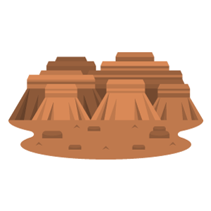 Grand Canyon Free Vector Illustration