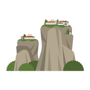 Meteora Free PNG Illustration