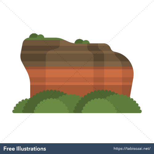 Sigiriya Rock Free Vector Illustration