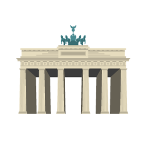 Brandenburger Tor Free Vector Illustration