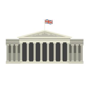 大英博物館の無料イラスト素材