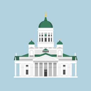 Helsinki Cathedral Free PNG Illustration
