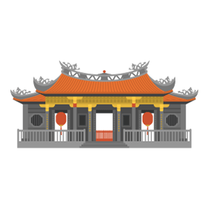 Lungshan Temple Free PNG Illustration