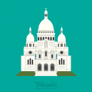 Sacré-Cœur, Paris Free PNG Illustration