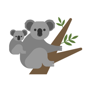 Koala Free PNG Illustration
