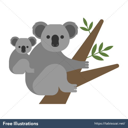 Koala Free Vector Illustration