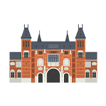 Amsterdam Rijksmuseum Illustration