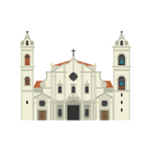 Havana Cathedral Illustration