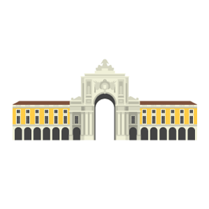 Praça do Comércio Free PNG Illustration