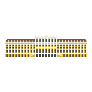 Schönbrunn Palace Free Vector Illustration