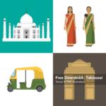 インドのイラスト素材