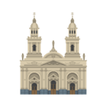 Catedral Metropolitana de Santiago Illustration