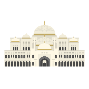 Qasr Al Watan Free Vector Illustration
