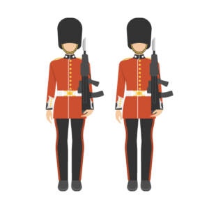 Scots Guards Free PNG Illustration