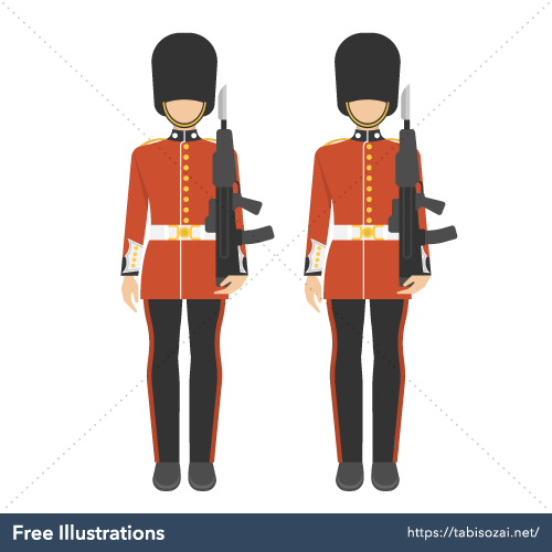 Scots Guards Free Illustration