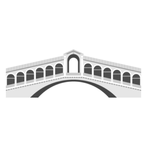 Rialto Bridge Free PNG Illustration