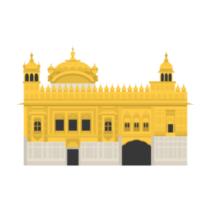 Harmandir Sahib Free PNG Illustration